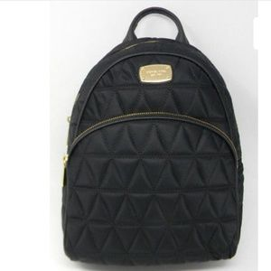 Michael Michael Kors Quilted Black Backpack